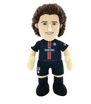Paris Saint Germain Poupluche - Peluche de David Luiz, 25 cm, Equipo, Temporada 2015/16: Amazon.es: Deportes y aire libre
