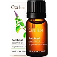 Gya Labs Patchouli Essential Oil For Stress Relief, Relaxation and Sleep - Topical Use For Acne and Dry Skin - Reduce…