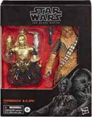 Star Wars The Black Series Chewbacca & C-3PO Toys 6