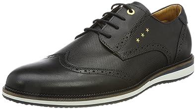 Pantofola d'Oro Rubicon Uomo Low, Zapatillas Para Hombre, Schwarz (Black), 47 EU