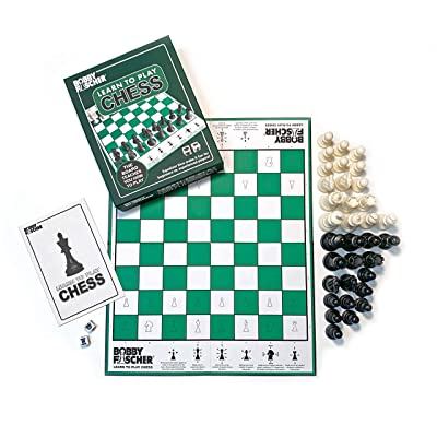 Bobby Fischer Learn to Play Chess by WE Games: Toys & Games