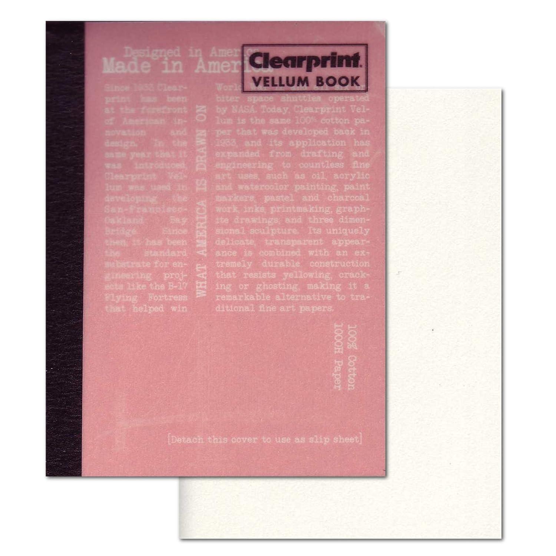 Clearprint Vellum Book 8.5X11 CHARTPAK CVB8511P