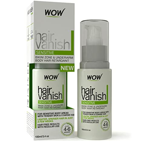 Buy Wow Hair Vanish Sensitive 100 Ml Online At Low Prices In India Amazon In