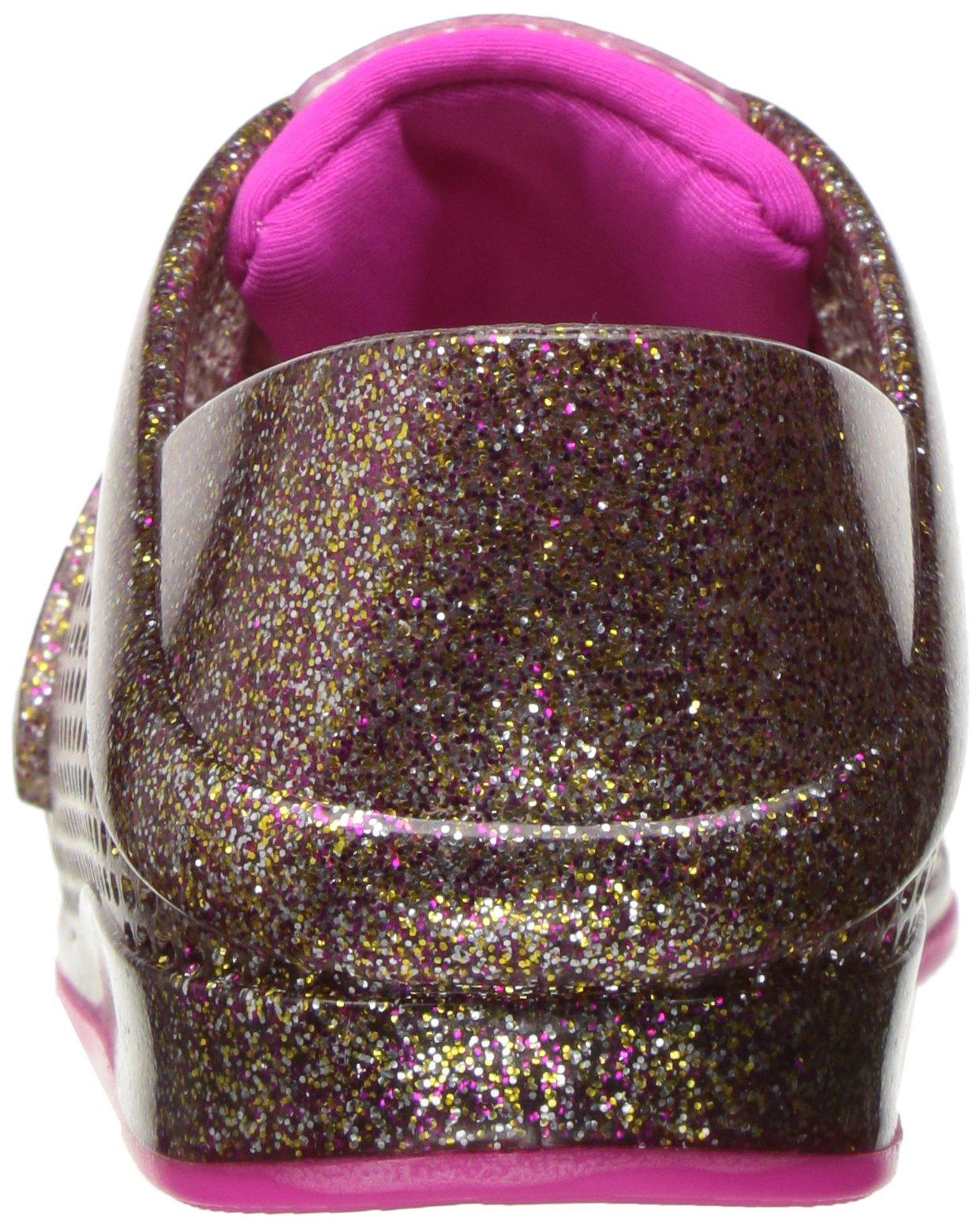Mini Melissa Kids' Mini Love System Sneaker,Glass Pink Glitter,10 Regular US Toddler by Mini Melissa (Image #2)