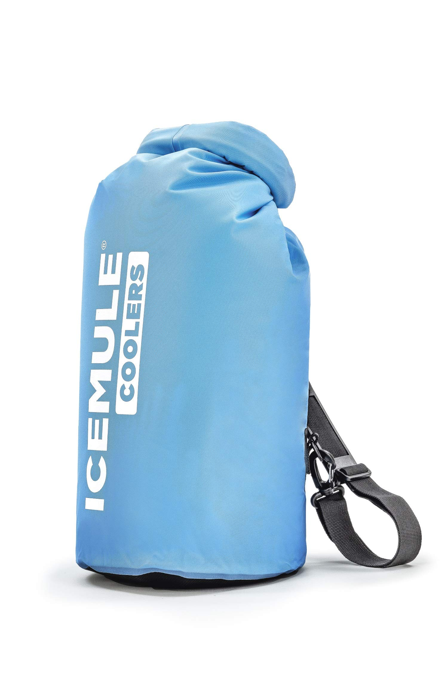 IceMule Classic Insulated Backpack Cooler Bag - Hands-Free, Collapsible, and Waterproof, This Portable Cooler is an Ideal Sling Backpack for Hiking, The Beach, Picnics and Camping-Small, Blue by IceMule