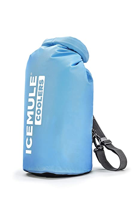 IceMule Classic Insulated Mini Backpack Cooler Bag - Hands-Free, Highly-Portable, Collapsible, Waterproof and Soft-Sided Cooler, Sling Backpack for Hiking, The Beach, Picnics and Camping best ice chests
