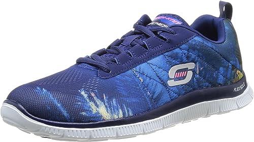 Skechers Flex Appeal Trade Winds Damen Sneakers: AhhCB