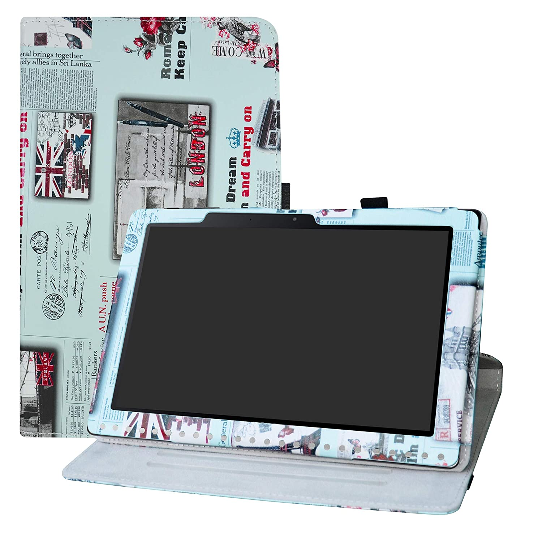 LFDZ Acer Iconia One 10 B3-A50 Rotante Custodia, Slim Girevole Smart 360 Gradi di Rotazione Case Cover Custodia Protettiva per 10.1' Acer Iconia One 10 B3-A50 Tablet,Goddess