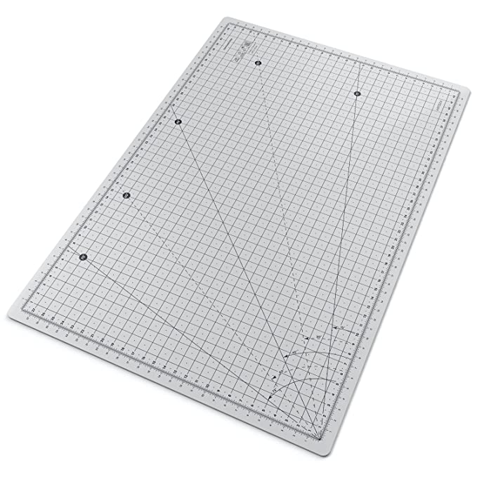 Base de corte autocicatrizante para cuchilla circular Arteza - Doble cara de A3-45 x 30 cm (3mm de grosor): Amazon.es: Oficina y papelería