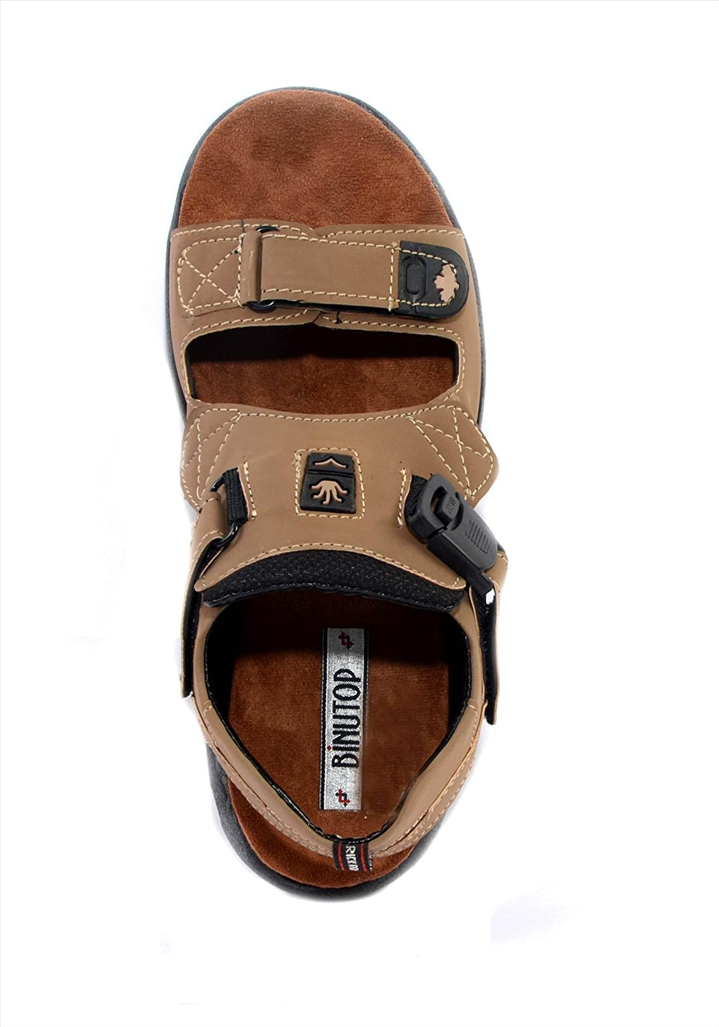 9b3141d317c Binutop Mens Cheeku Sports Casual Sandals (UK 7)  Buy Online at Low Prices  in India - Amazon.in
