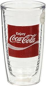 Tervis Coke Enjoy Tumbler, 16-Ounce, Clear - 1036999