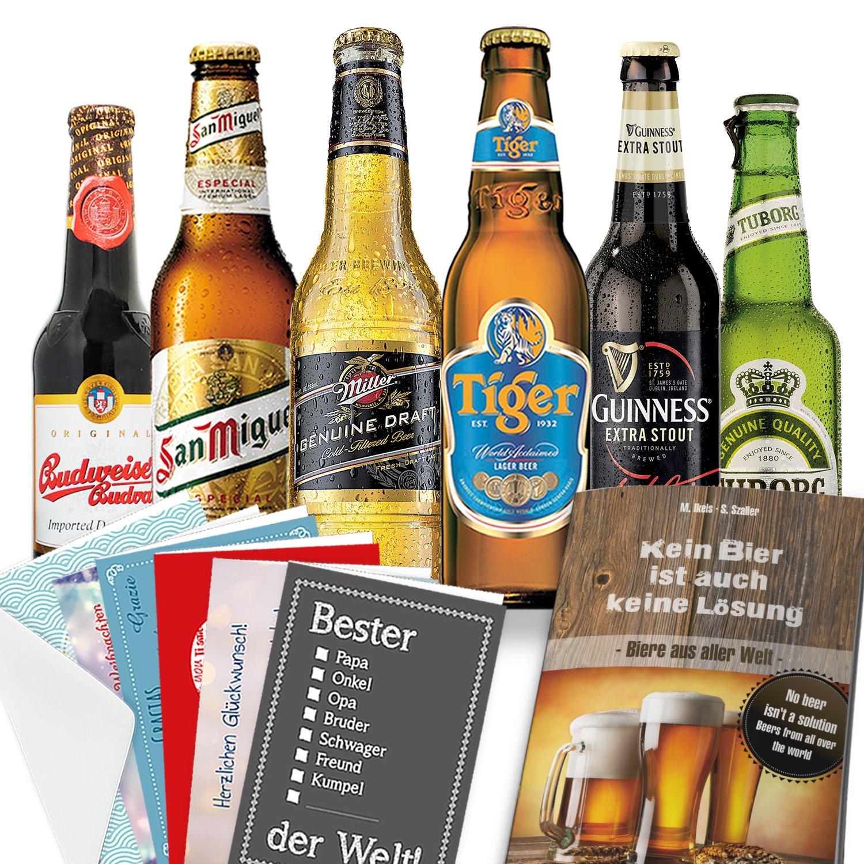 Biere der Welt   Biergeschenkset   Männer Weihnachtsgeschenk: Amazon ...