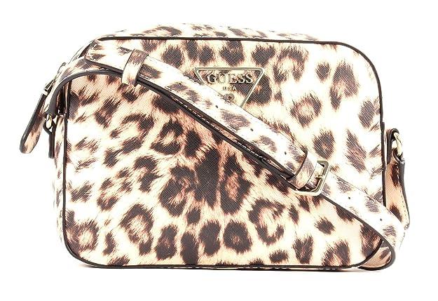 Guess Carys Crossbody Top Leopard: : Schuhe