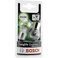Bosch 1987301050 Autolamp P21W LongLife - stop-/knipperlicht/achterlicht/kentekenplaatlamp