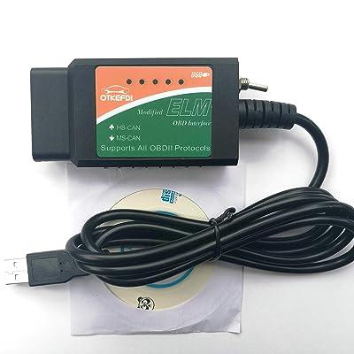 OTKEFDI ELM327 OBD,Forscan Modified 327 500 kbit/s: Automotive