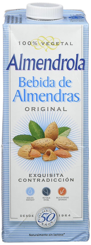 Almendrola - Bebida Vegetal de Almendras Original - 1L ...