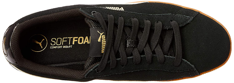 Puma Damen Vikky Platform - Sneakers, schwarz - Platform Weiß 1c90bc