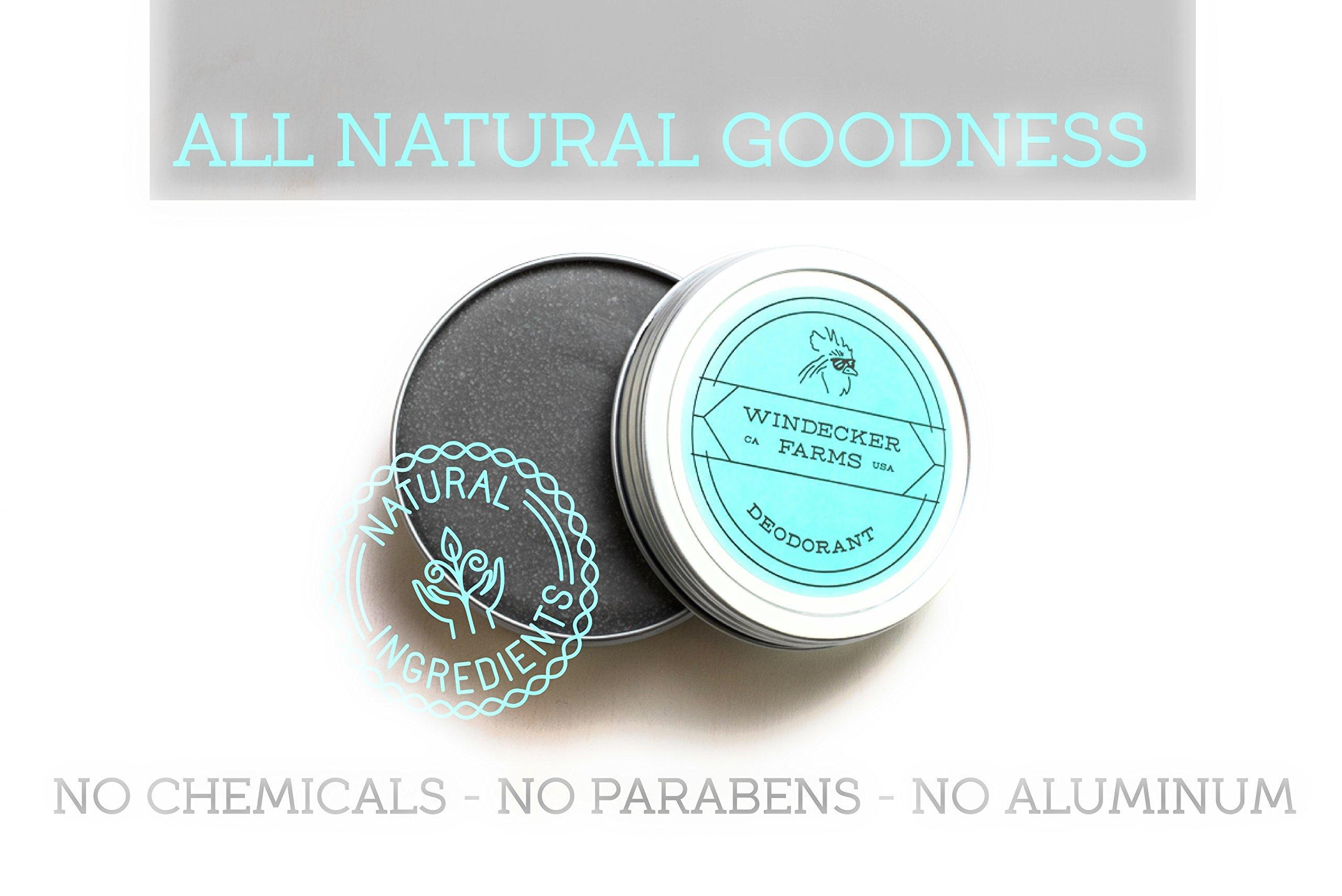 Charcoal Cream Deodorant