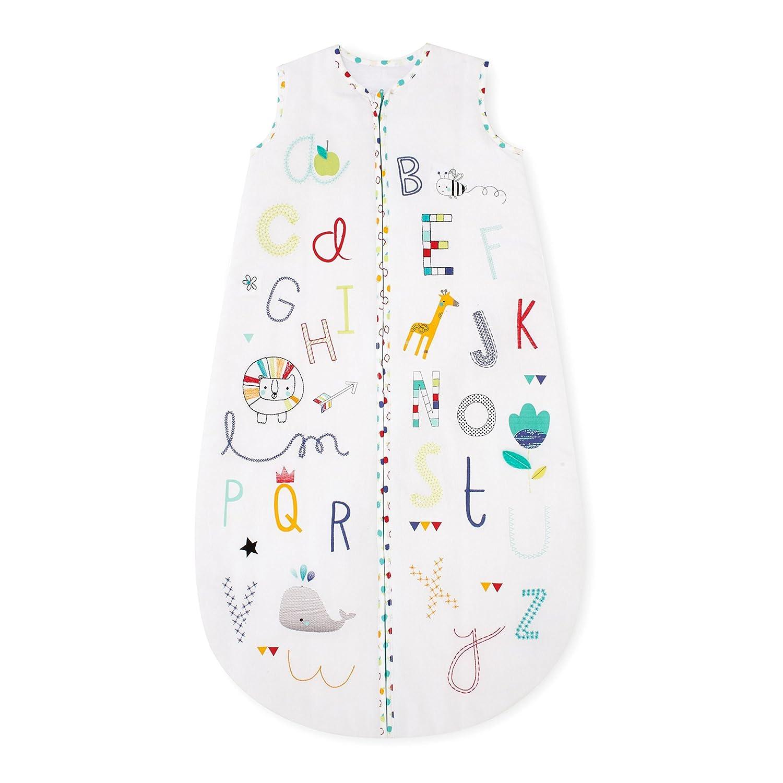 Mothercare Snoozie sueño bolsa (de 6 a 18 meses, 2,5 tog, alfabeto Brights): Amazon.es: Bebé