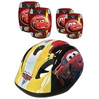 Stamp Disney Cars Helmet/Elbow and Knee Pads