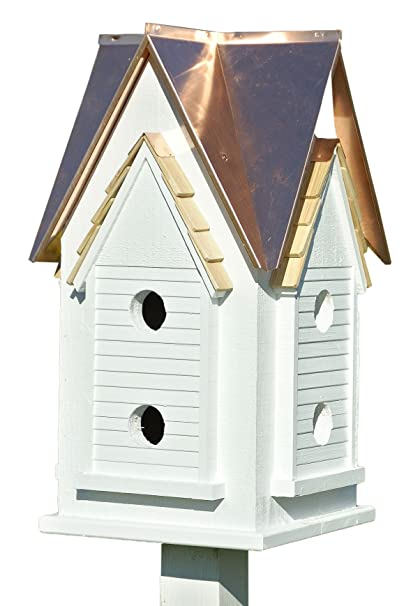 Heartwood 033A Victorian Mansion Bird House Decorative