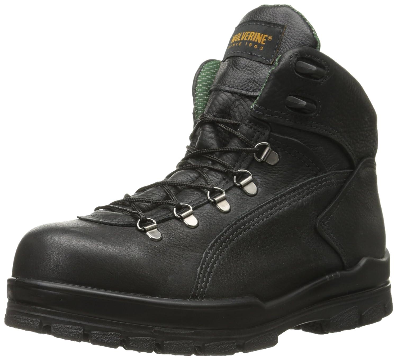 Wolverine Mens tacoma hiker Closed Toe Leather Motorcycle Boots B000FHB13I 10 D(M) US|ブラック ブラック 10 D(M) US