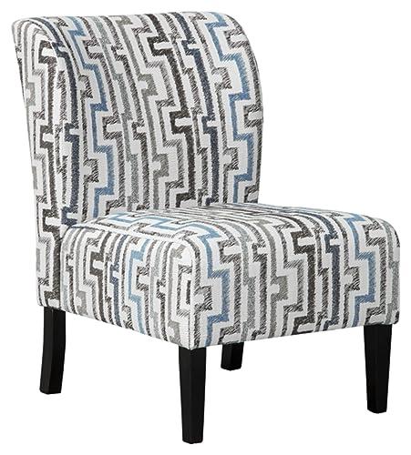 Benchcraft – Alsen Contemporary Print Accent Chair – Granite