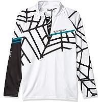 SPYDER Hideout Camiseta Térmica, Niños, White, XL
