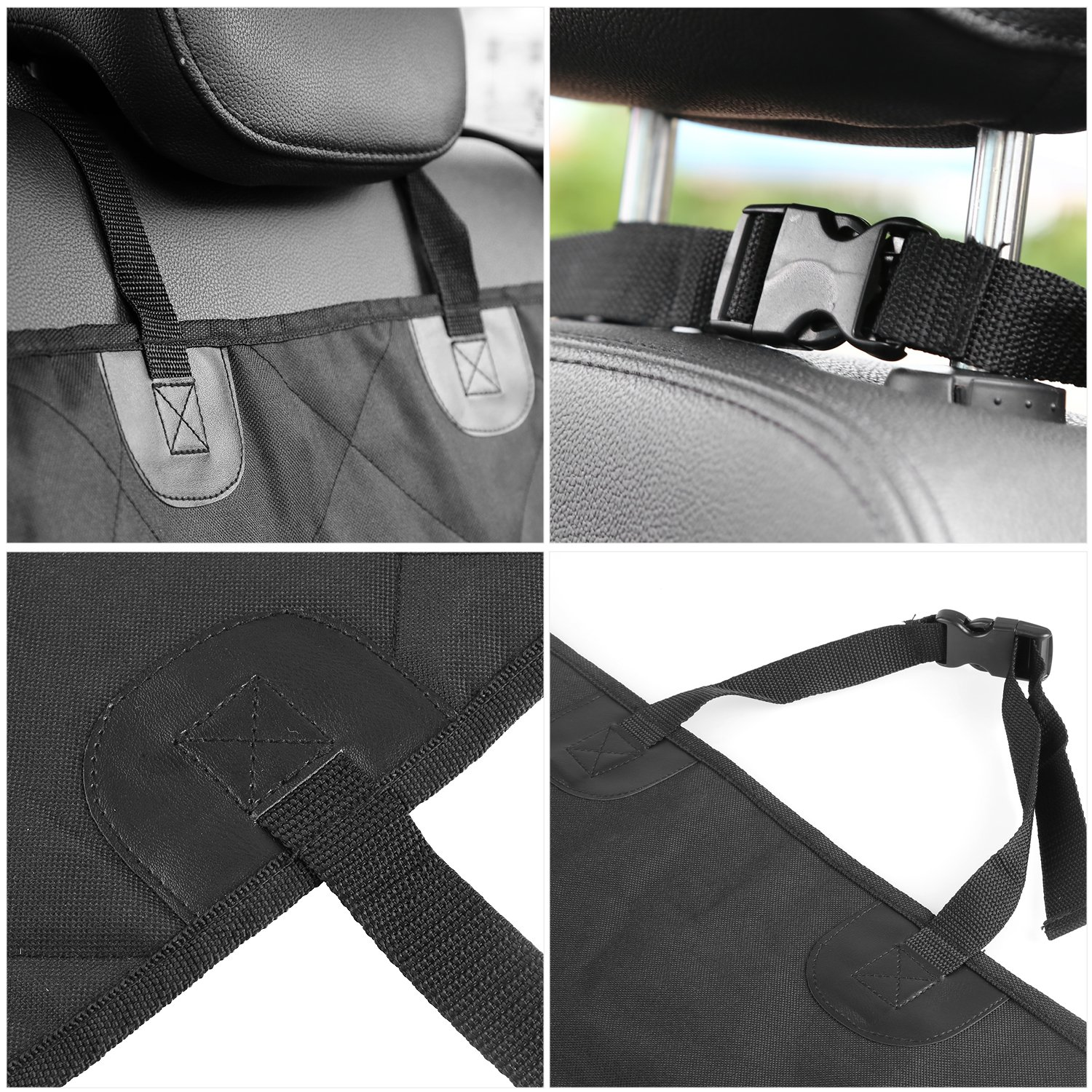 MVPOWER Pet Car Seat Cover Waterproof Travel Accessories Front Seat Cover Protector for Dog