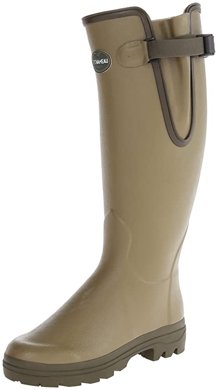 Le Chameau Giverny Womens Rubber Boots Green - 38 EU