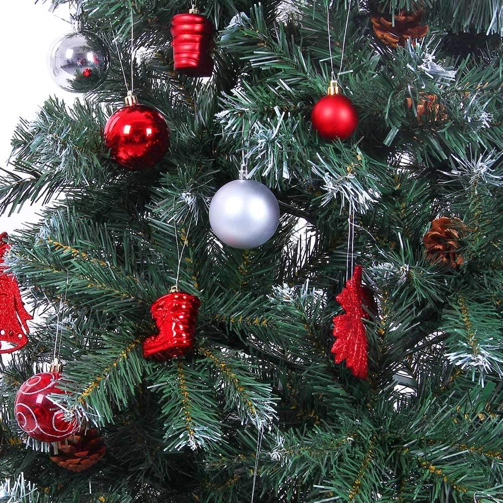 Casaria Sapin de No/ël Artificiel 150 cm D/écoration f/êtes Arbre de no/ël 310 Branches