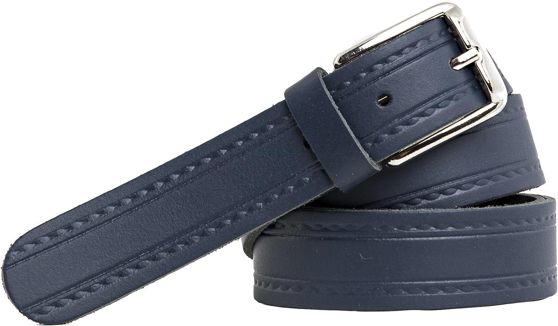 3 cm shenky diversi colori e motivi Cintura in pelle qualit/à tedesca