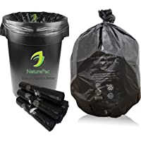 NaturePac Garbage Bags Biodegradable For Kitchen,Office,Medium Size (48cmX56cm/(19 Inchx22 Inch),180 Bags)