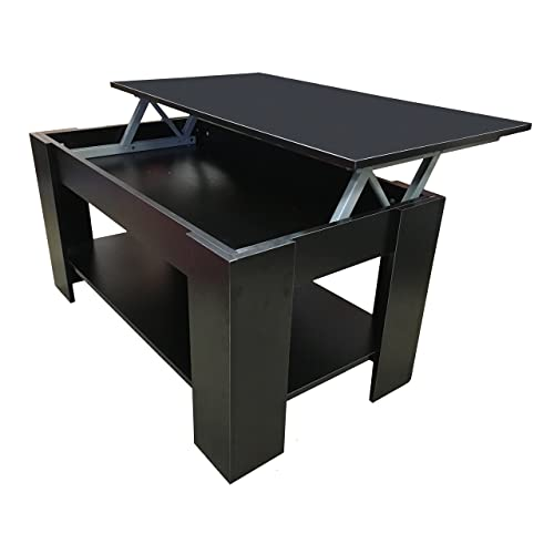 Black Coffee Table With Storage Uk
