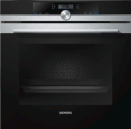 Siemens HB655GBS1 - Horno (Grande, Horno eléctrico, 71 L, 71 L, 30-300 °C, Negro, Acero inoxidable)