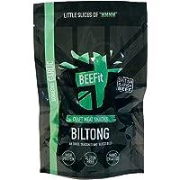 BEEFit Snacks 500g Knoblauch Biltong, Hohes Protein, Gesund, Wenig Zucker, Nicht Beef Jerky