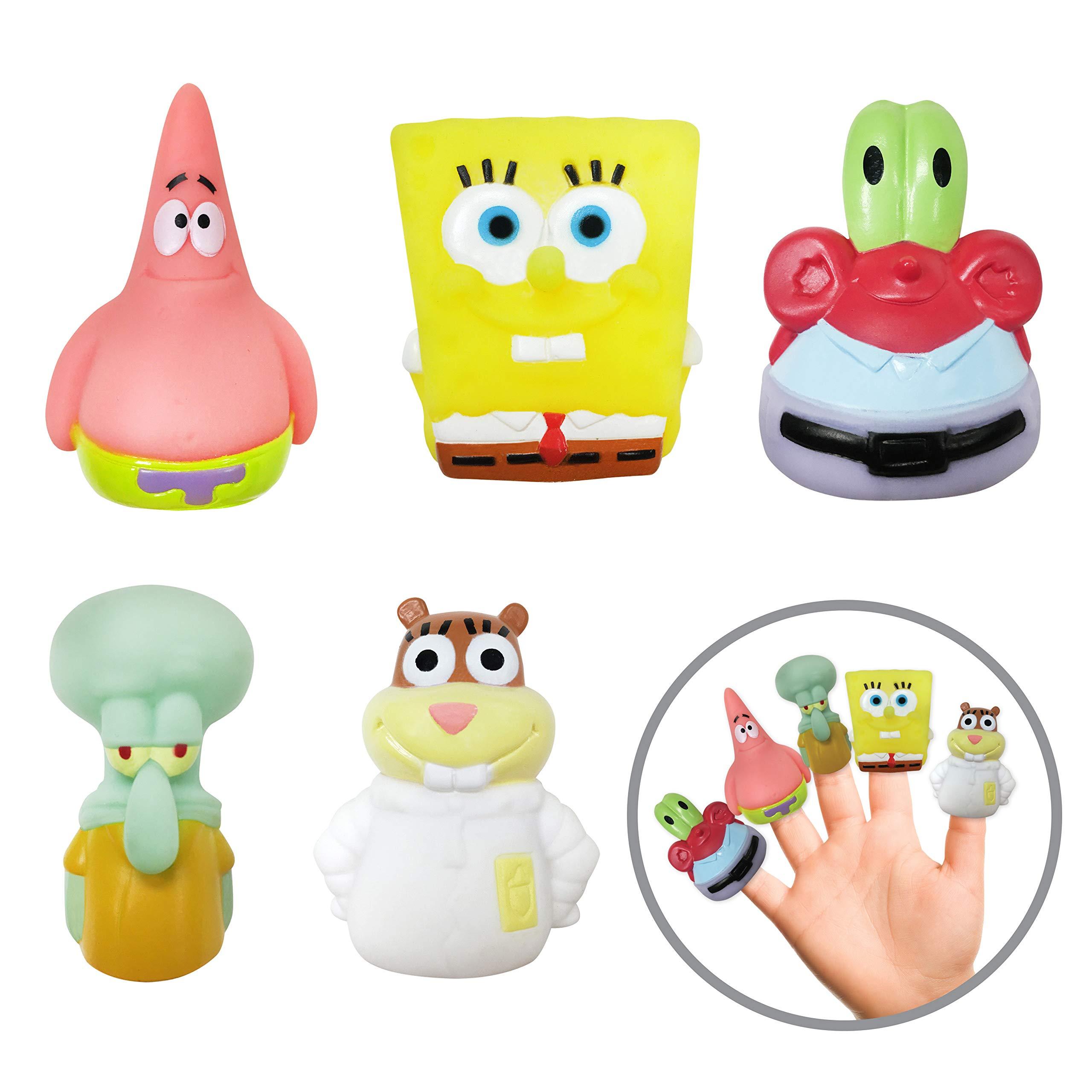 Nickelodeon Spongebob Finger Puppets