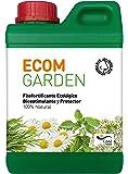 ECOM Garden Abono Bioestimulante Ecológico. 1 Litro Concentrado. Vigorizante Natural para Plantas De Interior Y Exterior, Huerta, Frutales, Setos Y Jardín. Rinde hasta 33 litros diluido.
