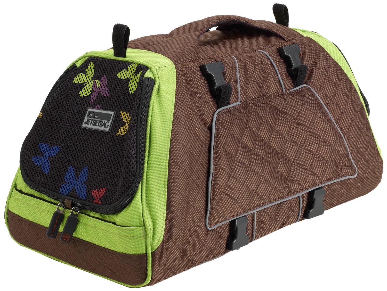 Petego JET SET GB FF M  Forma Frame Tasche Schmetterling, grün/braun