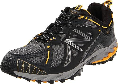 New Balance Mt610By, Zapatillas de Running para Hombre, Black/Yellow, 10.5 UK D: Amazon.es: Zapatos y complementos