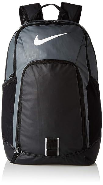 ae76f2f503a5 Nike 25 Ltrs Flint Grey Black White School Backpack (BA5255-064 ...