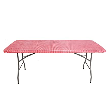 Beau Tablecloth For 6ft Folding Table  Fitted Rectangular Table Cloth For 6 Foot  U2013 Size 30