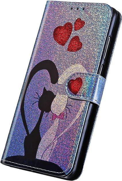 Surakey Cover Compatibile con iphone 5S/SE Custodia Flip PU Pelle ...