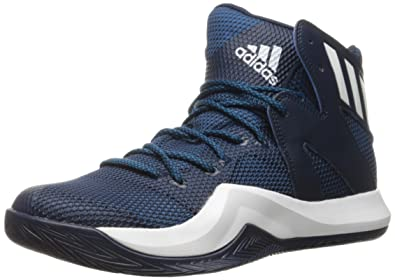 reputable site 19fd3 40b4d ... get adidas mens crazy bounce basketball shoes collegiate navy white  unity blue fabric 94300 9b957