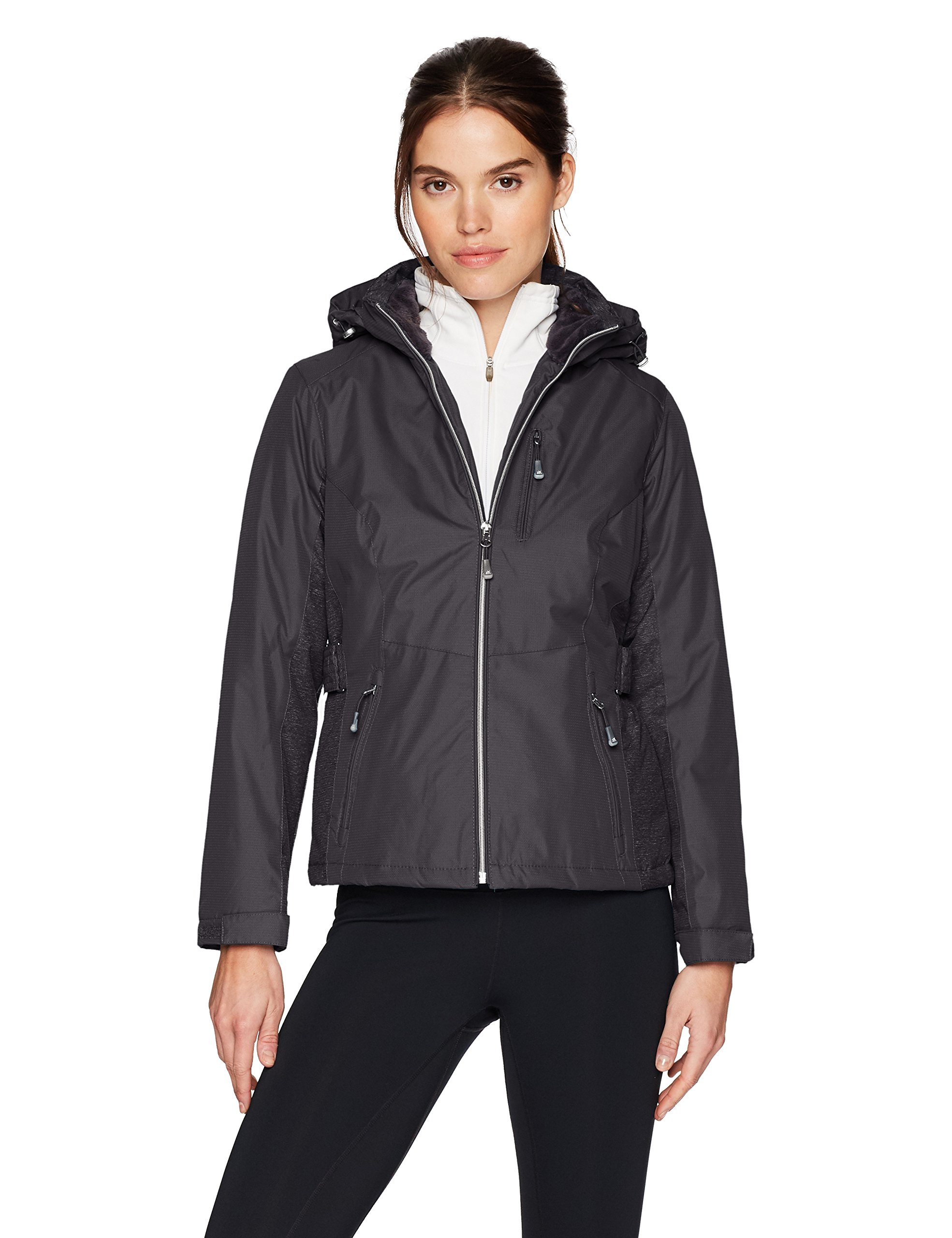 ZeroXposur Women's Aliyah Insulated Jacket, Black, Petite Large