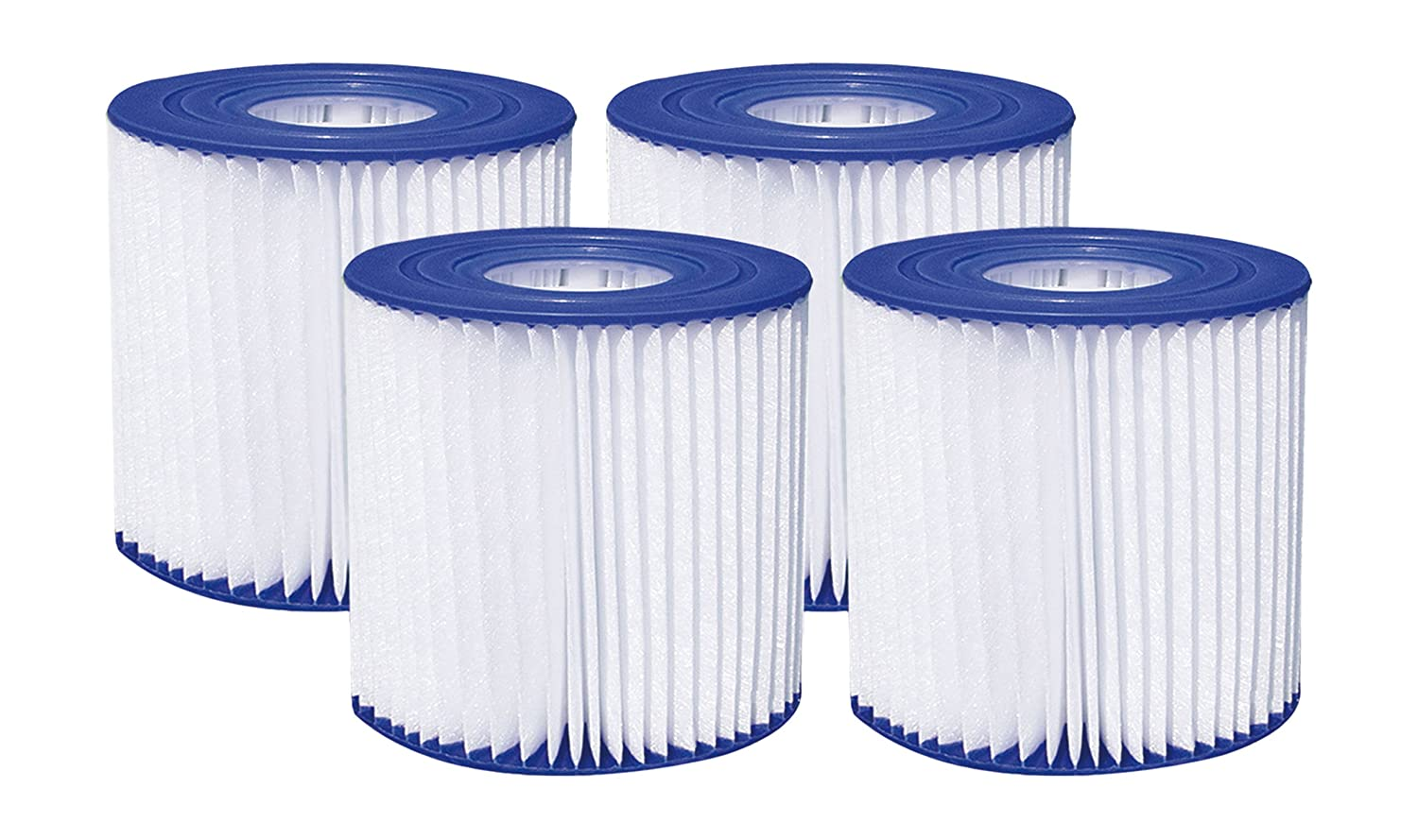 "Summer Waves 4.13"" x 3.75"" Type D Filter Cartridge (4 Pack) P57000104156"