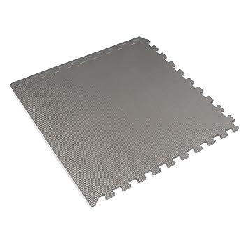 Interlocking Rubber Floor Tiles black faux wood interlocking foam floor tile Foam Mat Charcoal Gray