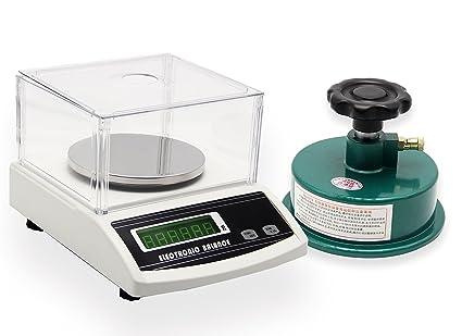 NEWTRY - Balanza analítica digital, balanza electrónica de precisión de sobremesa, instrumento de pesaje