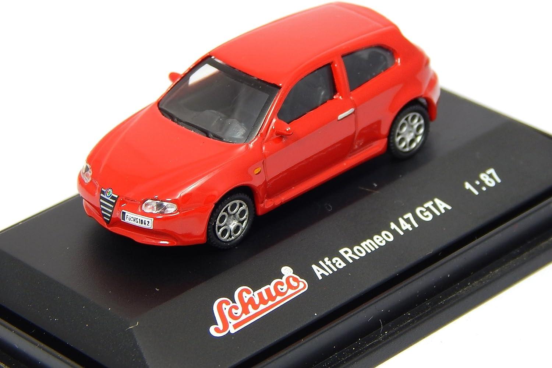 Schuco Alfa Romeo 147 GTA Red 1:87