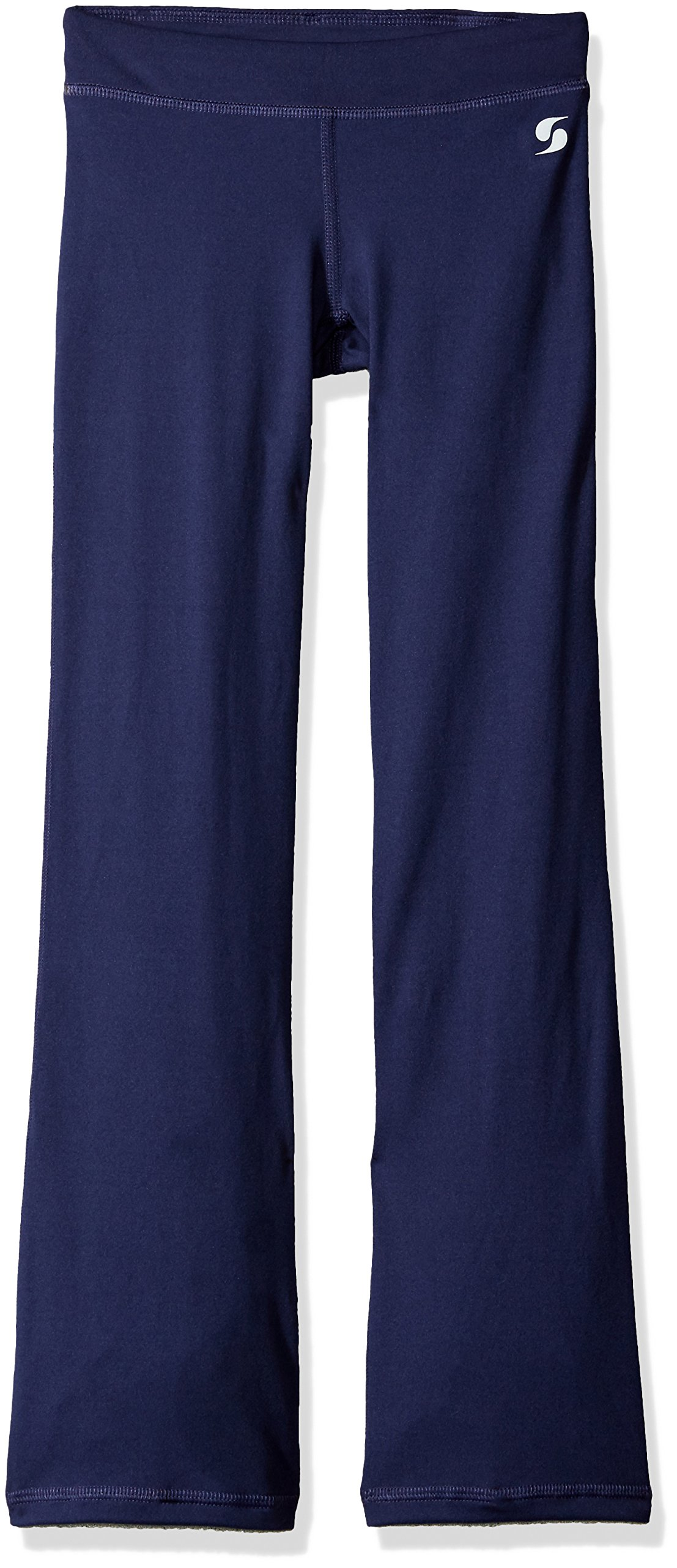 Soffe Big Girls' Boot Pant, Navy, Medium